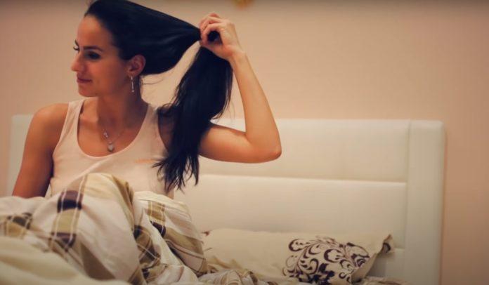 Вред от сна с распущенными волосами