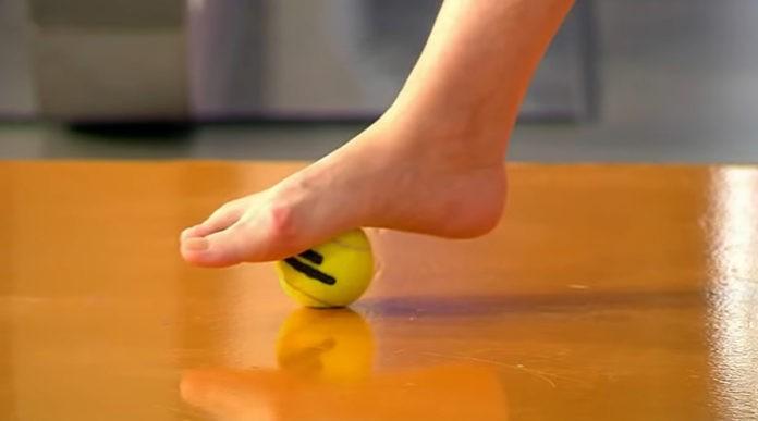 Упражнения для снятия усталости ног